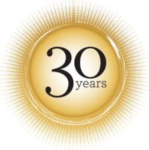 Celebrating 30 years in the business world!