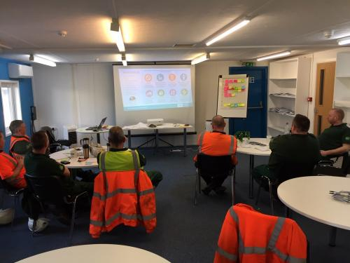 Lean training with Enva drivers